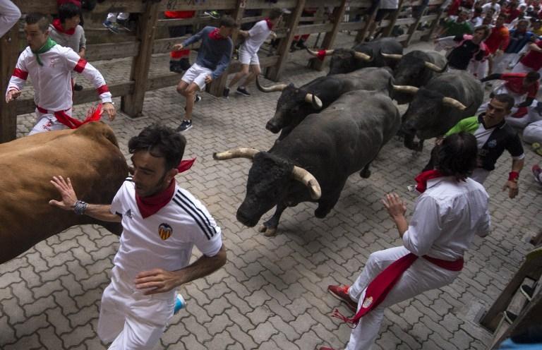 SPAIN-BULLFIGHTING-SAN-FERMIN