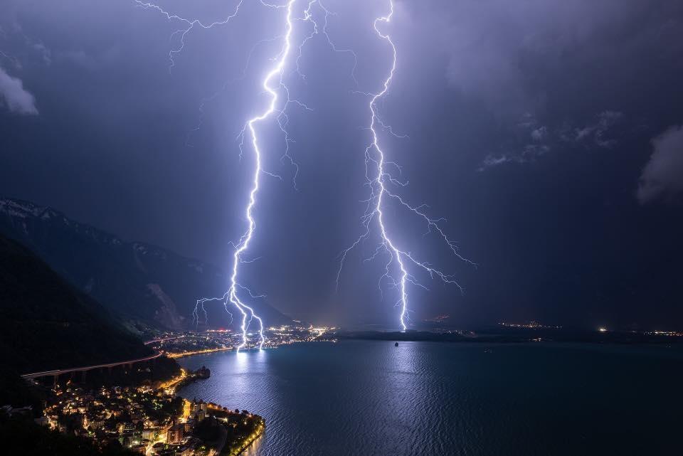 Villám, Genfi-tó